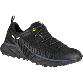 SALEWA Dropline GTX Chaussures Homme, black out/fluo yellow